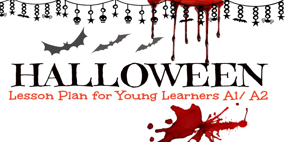 Halloween teach english lesson plan