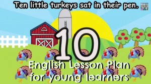 English lesson plan young learners Thanksgiving