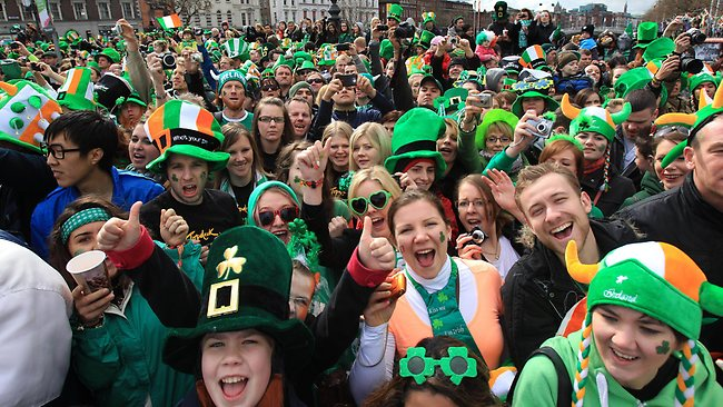 party st patricks day efl lesson plan