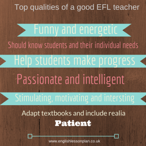 How to be a great EFL teacher