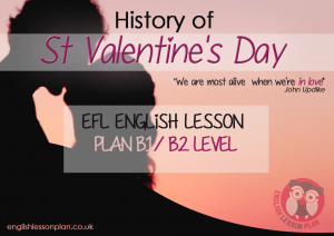 teaching English Lesson Plan History of Valentine's day